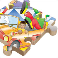 Personalised Wooden Jigsaws