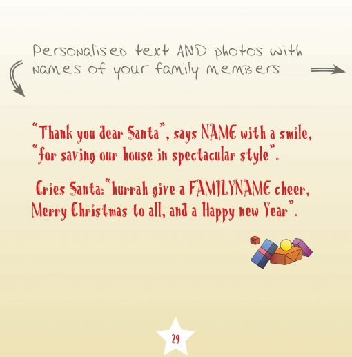 xmas book text page