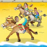 personlalised-jigsaw-horse-riding
