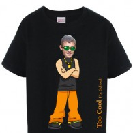 kids tshirt personalised photo gift cool boy