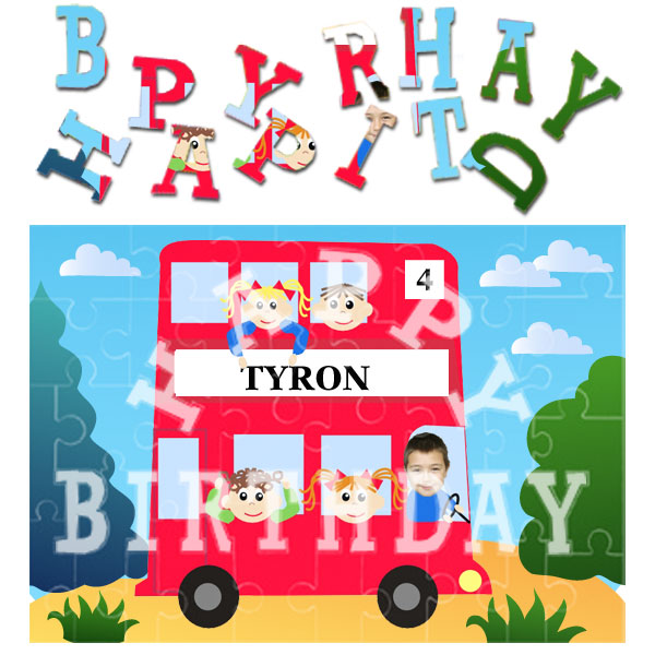 personalised-birthday-red-bus-jigsaw