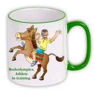 personalised mug horse riding photo gift