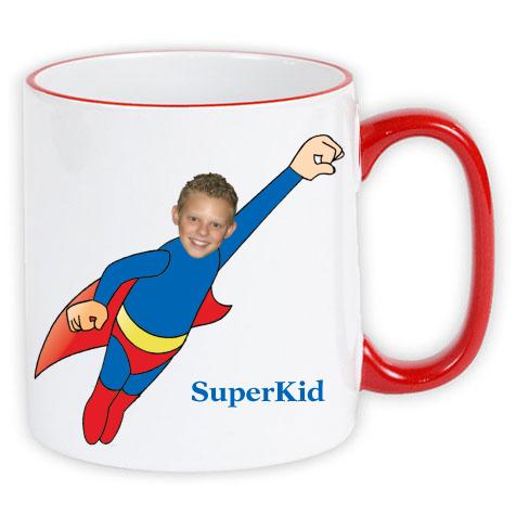 personalised mug superkid photo gift
