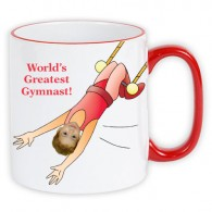 personalised mug worlds greatest gymnast photo gift