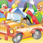 personalised-wooden-jigsaw-circus-clown-car