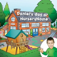 Personalised photo book, a day at nursery