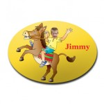 door_plaque_oval_personalised_photo_gift-horse-riding