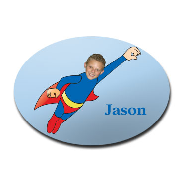 door_plaque_oval_personalised_photo_gift-superkid