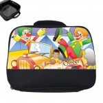 personalised lunch bag photo clown car