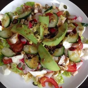 crazy avocado salad
