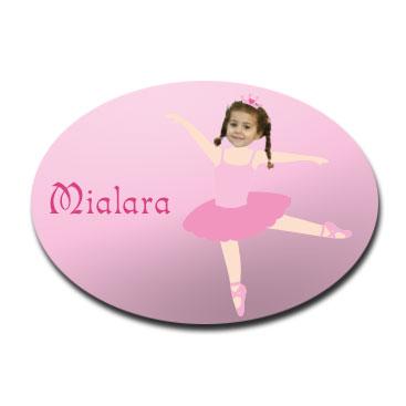 door_plaque_oval_personalised_photo_gift-ballerina1