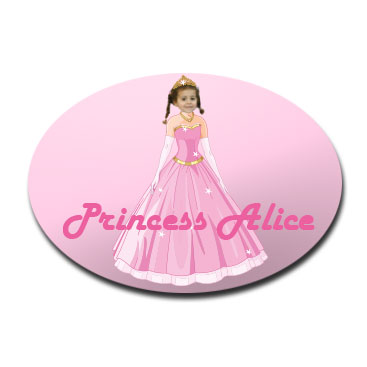 door_plaque_oval_personalised_photo_gift-princess