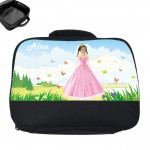 personalised lunch bag photo princess