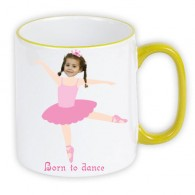 personalised mug ballerina photo gift