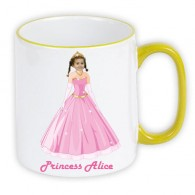 personalised mug princess photo gift