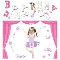 personalised birthday ballerinaB jigsaw