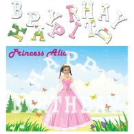 personalised birthday princess jigsaw