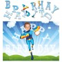 personalised birthday superheroes fireboy jigsaw