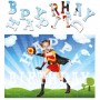 personalised birthday superheroes firegirl jigsaw