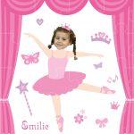 personalised jigsaw ballerina