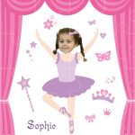 personalised jigsaw ballerinaB