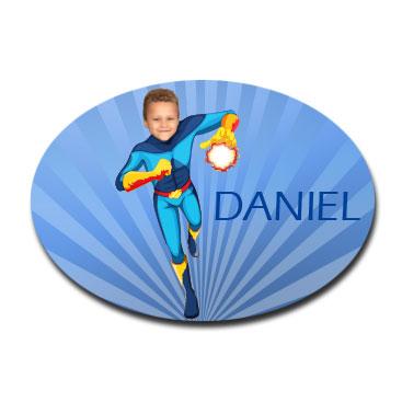 personalised_door_plaque_gift_superhero_fireboy