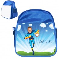 personalised bag fireboy blue