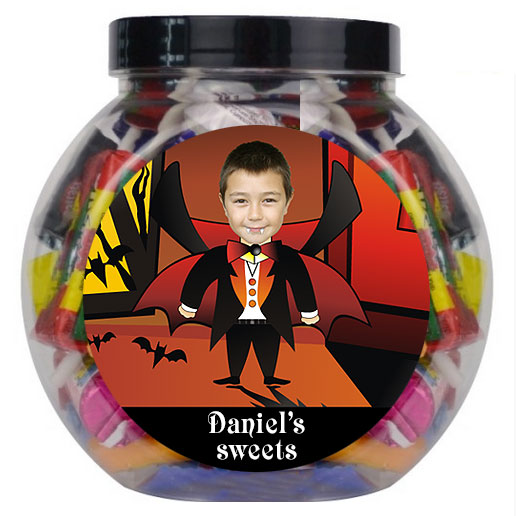 personalised sweetjar dracula