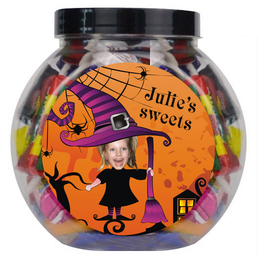 personalised sweetjar witch