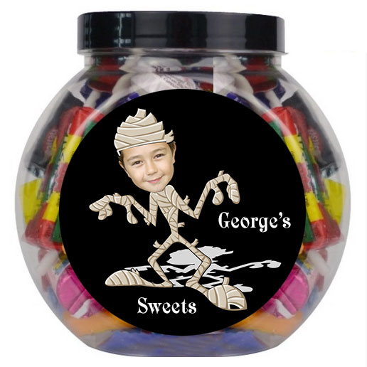 personalised sweet jar momie