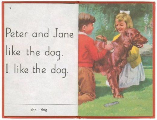 Ladybird book Peter and Jane