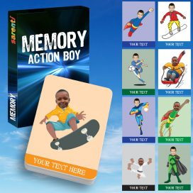 memory Action Boy Card Set