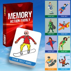 memory Card game Action family