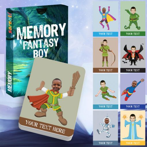 memory card game Fantasy boy