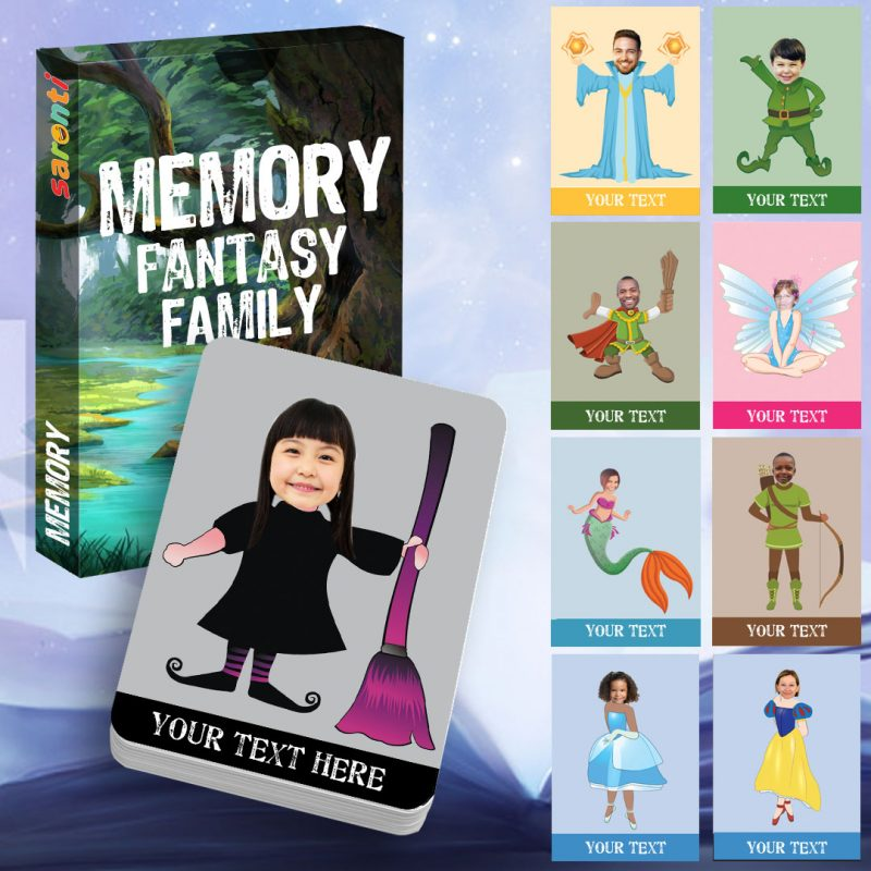 memory card game Fantasy Family