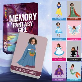 memory card game Fantasy girl
