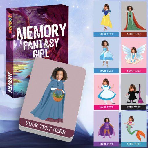 memory card game Fantasy girl