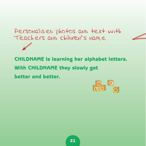 nursery book text page