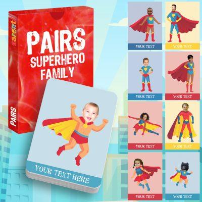 Snap superheroes family