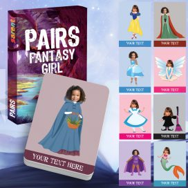 Personalised Card Games for Girls