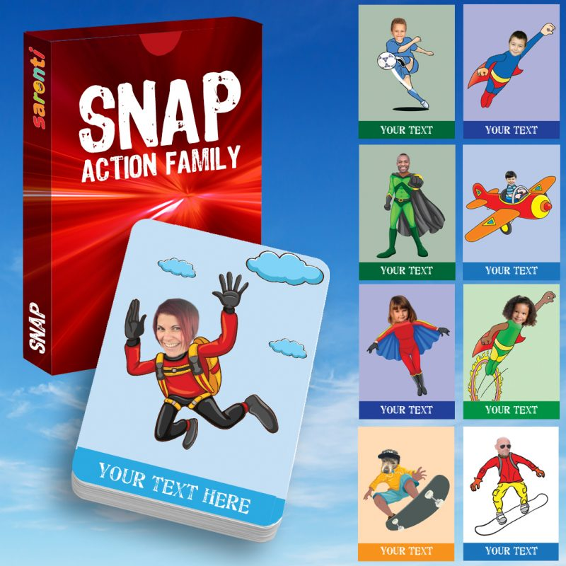 Snap Action Family cards
