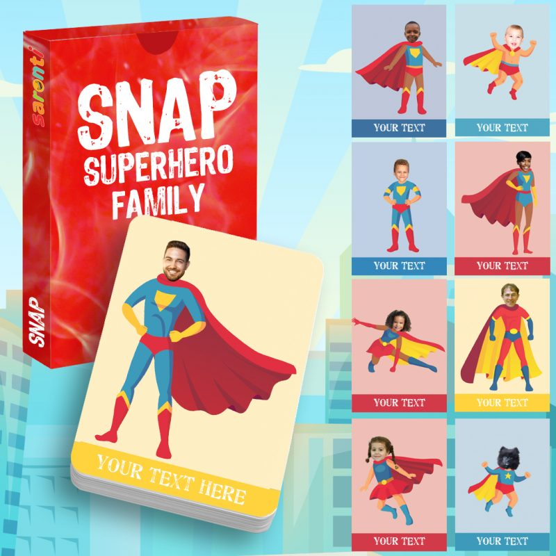 snap superhero family