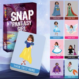 Snap Magical fantasy girl card game