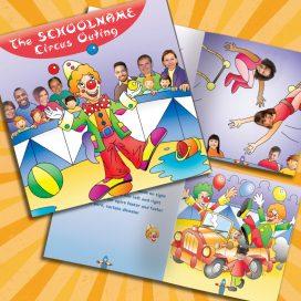 school circus book