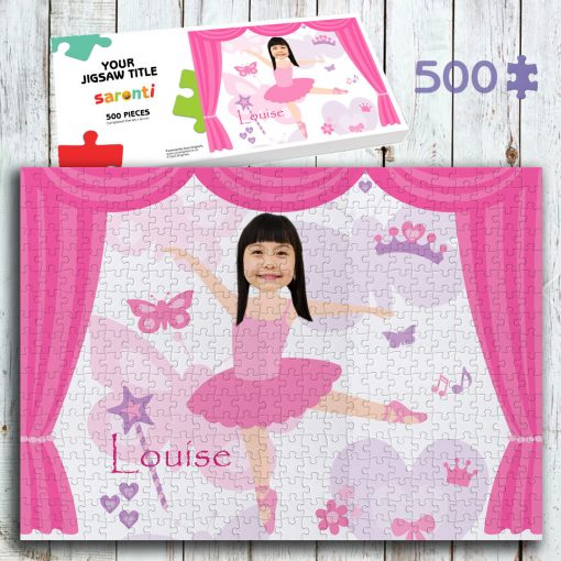 Ballerina 500 piece Jigsaw puzzle