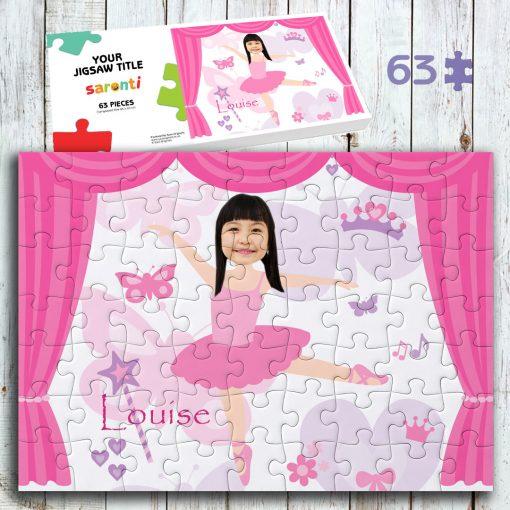 Ballerina 63 piece Jigsaw puzzle