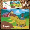 Digger 1000 piece Jigsaw puzzle