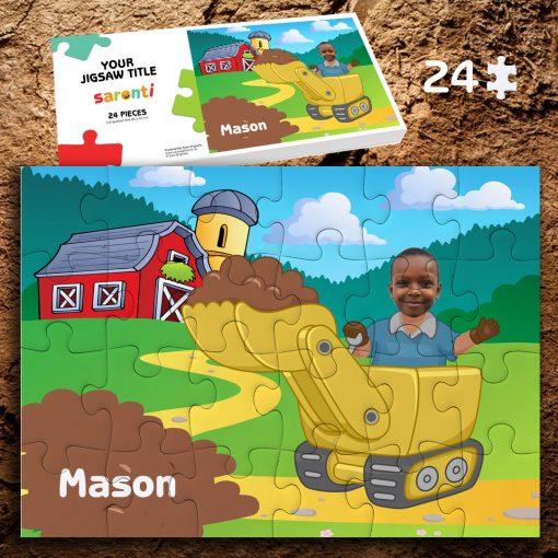 Digger 24 piece Jigsaw puzzle