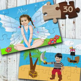 Wooden Personalised Jigsaws