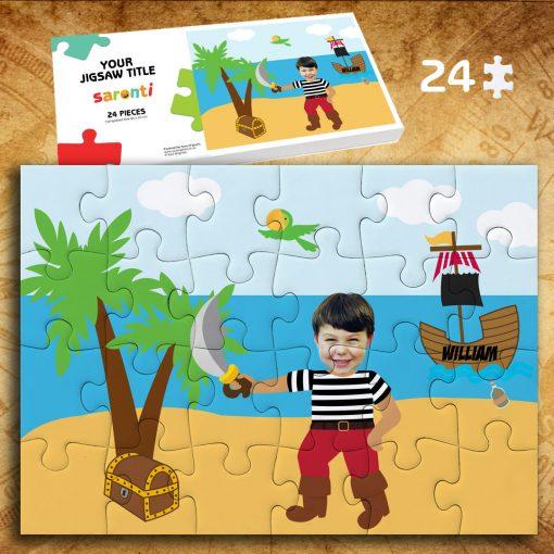 Pirate 24 piece Jigsawpuzzle